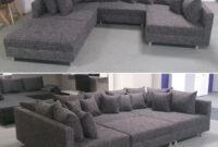 Sofa Xxl 3id6 Wohnlandschaft Claudia Ecksofa Couch Xxl sofa Mit Ottomane Und
