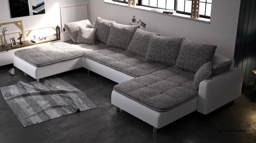 Sofa Xxl Etdg sofa U form Xxl Xxl sofa Grau Big sofa U form Full Size Furniture