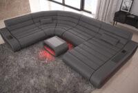 Sofa Xxl J7do Leder Wohnlandschaft Concept Xxl Mit Ottomane Recamiere