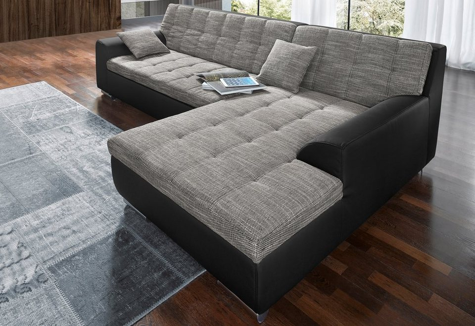 Sofa Xxl Mndw Domo Collection Ecksofa Wahlweise Mit Bettfunktion Online Kaufen Otto