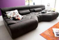 Sofa Xxl S5d8 Big sofa Tara Stoff Grau Mit Kissen sofa Outlet
