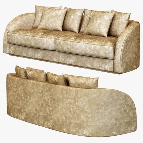 Sofales Xtd6 3d Model Eichholtz sofa Les Palmiers Cgtrader