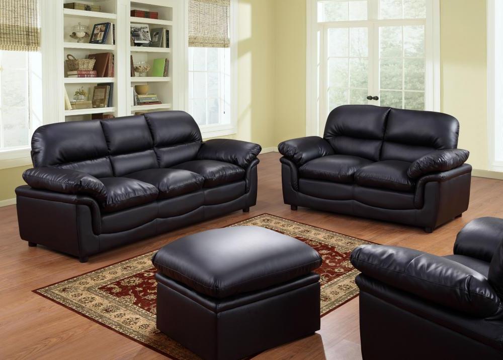 Sofas 3 2 3ldq Verona Leather sofas Suite 3 2 1 Stool 3 Colours sofa Set Free