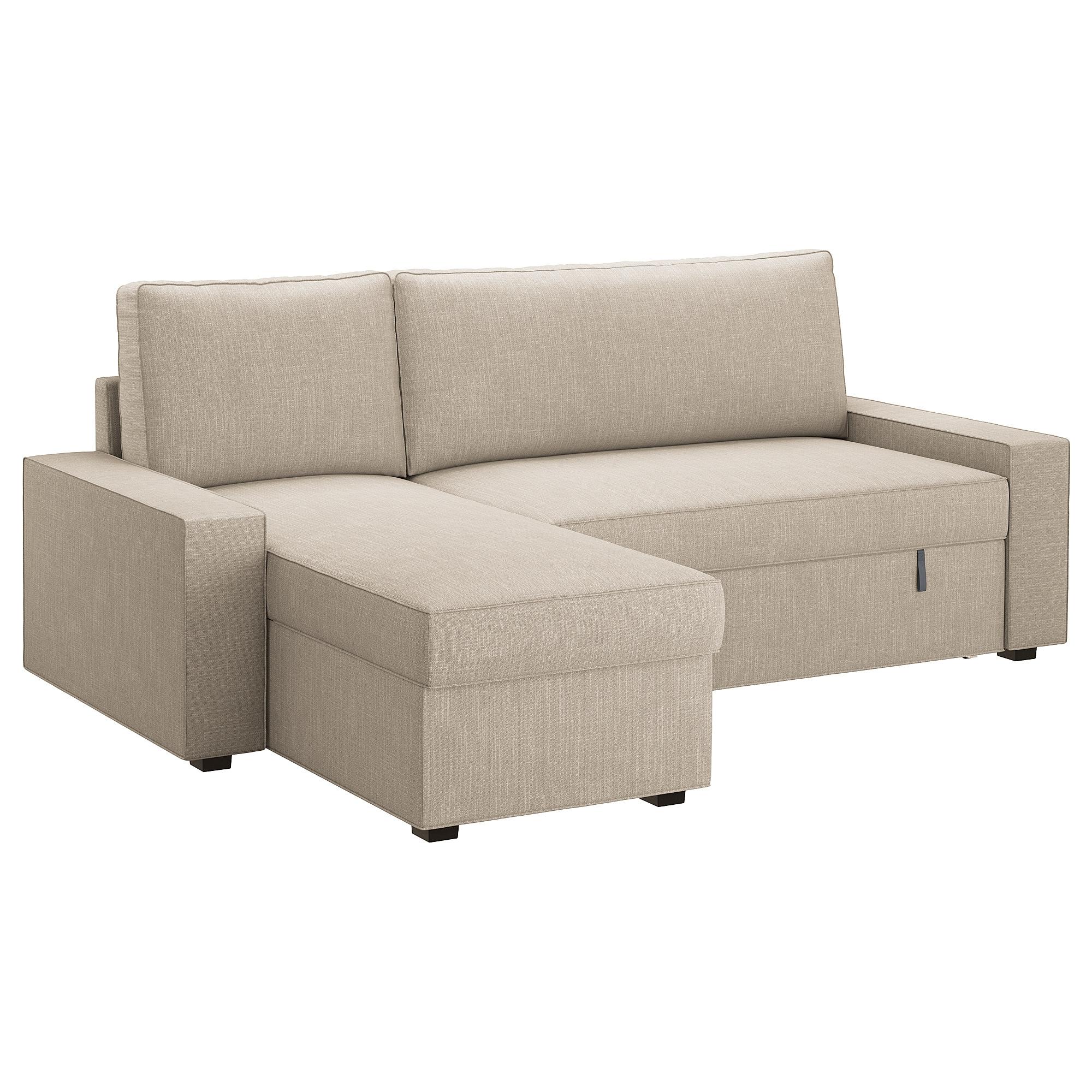 Sofas Baratos Coruña 4pde Vilasund sofà Cama Con Chaiselongue Hillared Beige Ikea