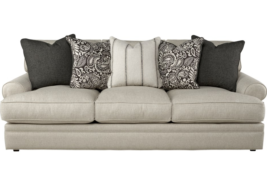 Sofas Beige Dwdk Cindy Crawford Home Lincoln Square Beige sofa sofas Beige