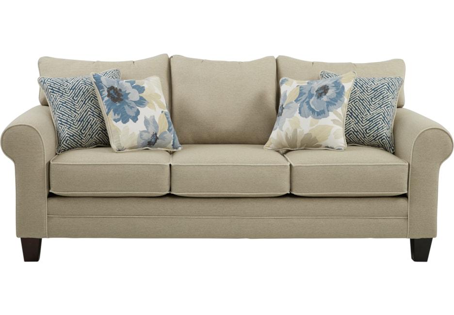 Sofas Beige Fmdf Spring Blooms Beige sofa sofas Beige