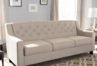 Sofas Beige Xtd6 Baxton Studio Arcadia Contemporary Light Beige Fabric Upholstered