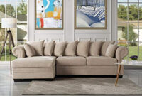 Sofas Beige Zwdg Modern Large Fabric Sectional sofa L Shape Couch with