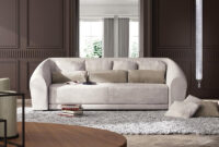 Sofas Bilbao Fmdf sofa In Contemporary Classic Style Curved Shape Idfdesign