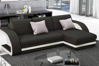 Sofas Bonitos S1du Muebles Bonitos Hilda sofa Bed with Chaise Longue Black