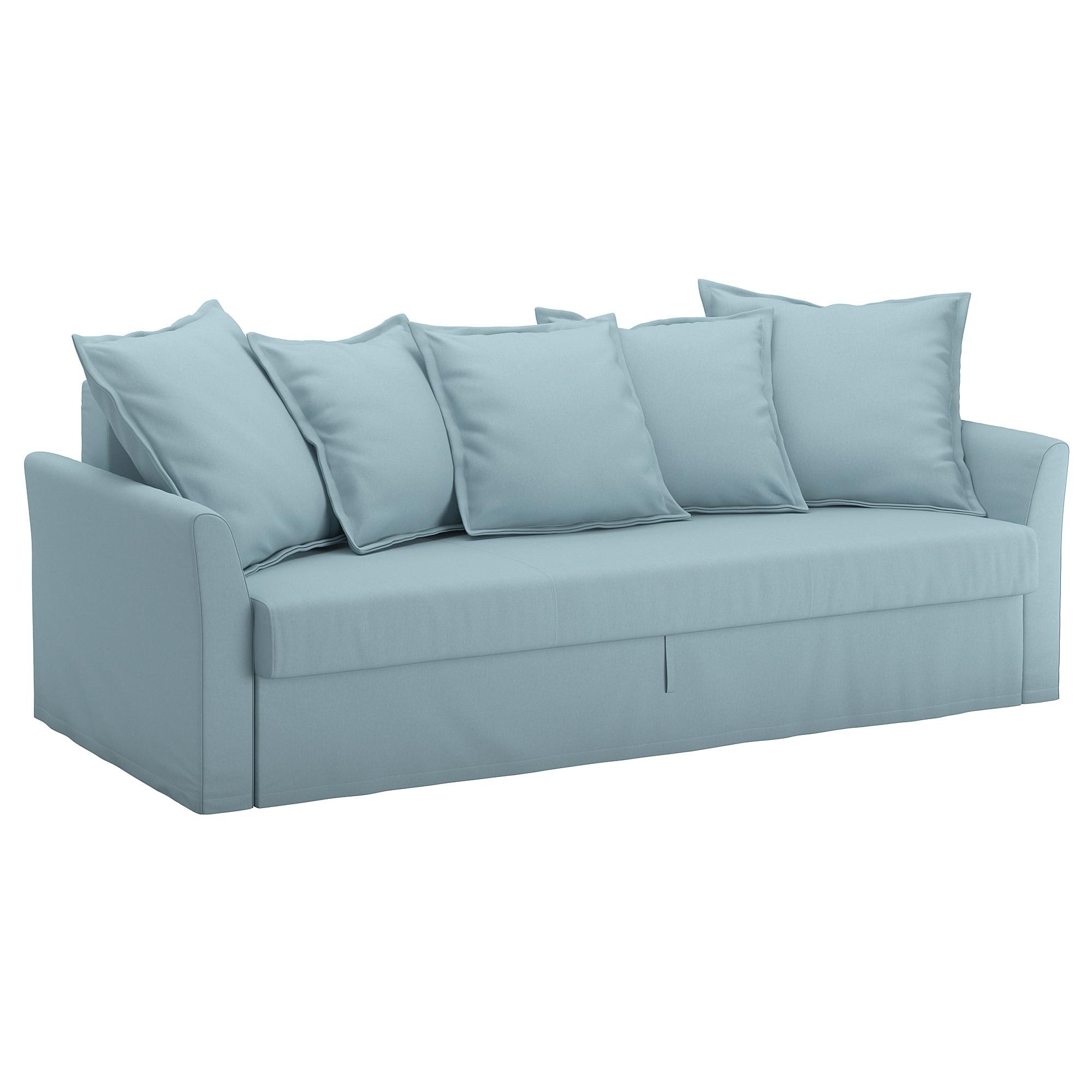 Sofas Cama Ikea D0dg Holmsund sofà Cama 3 Plazas orrsta Azul Claro Ikea