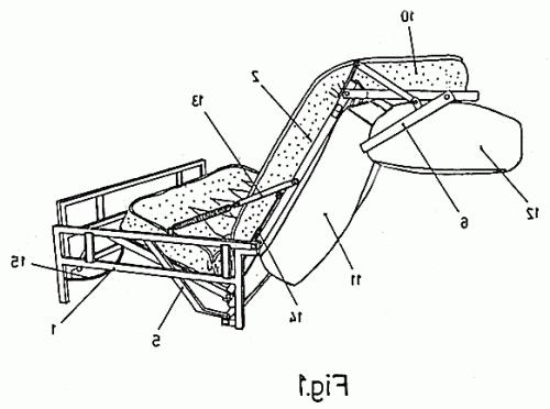 Sofas Cama Zarda Xtd6 somier Plegable Perfeccionado Para sofa Cama Patentados