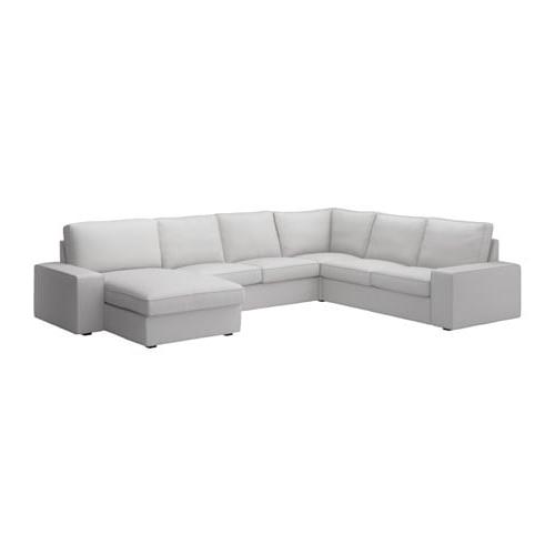 Sofas Chaise Longue 5 Plazas Irdz Kivik sofà 5 Plazas Esquina Chaiselongue orrsta Gris Claro Ikea