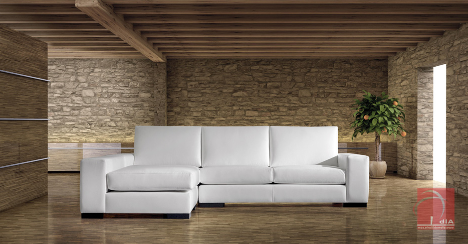 Sofas Chaise Longue Baratos Modernos 3id6 Tresillo Chaise Longue 3 Plazas En Pontevedra 1006 4 Alb