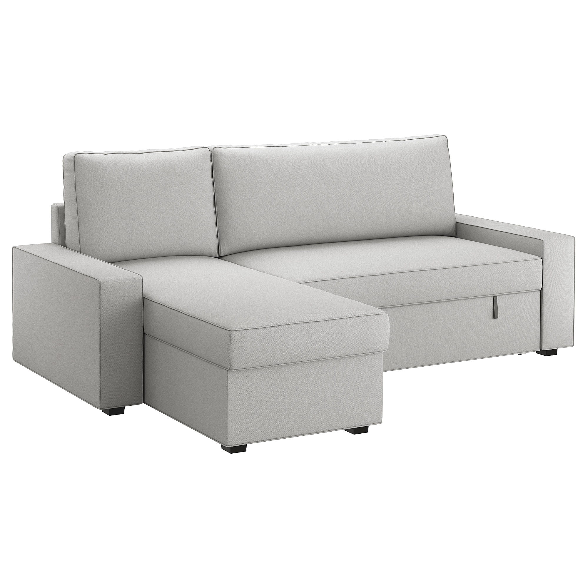 Sofas Chaise Longue Cama S5d8 Vilasund sofa Bed with Chaise Longue orrsta Light Grey Ikea
