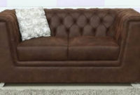 Sofas Chester S5d8 Chester 2 Seater sofa In Brown Colour by Star India