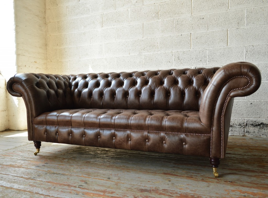 f40f9bae54b ... Sofas Chesterfield Ftd8 Montana Old English Dark Brown Leather 3 Seater  Chesterfield sofa ...