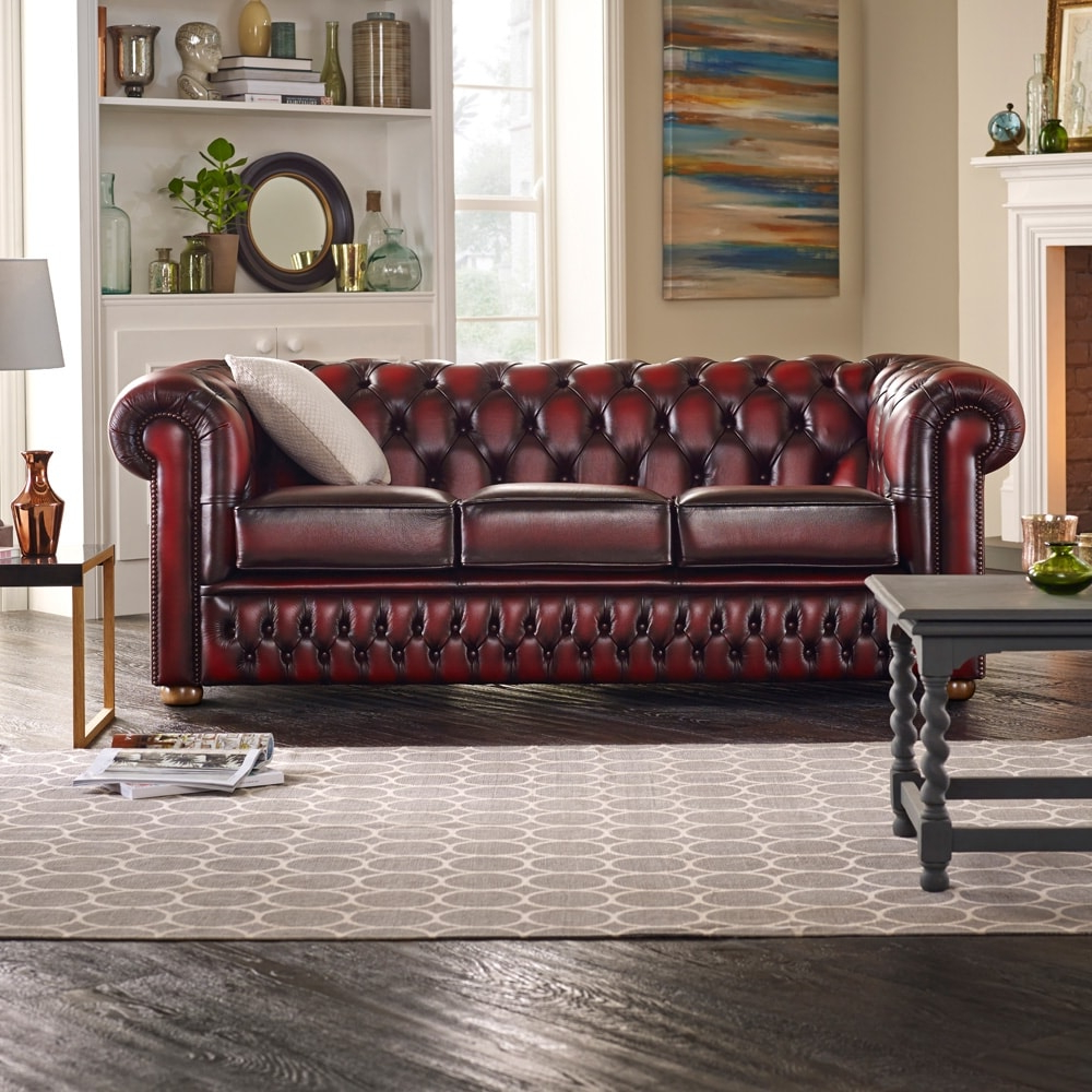 Sofas Chesterfield H9d9 A 3 Seater Chesterfield sofa at sofas by Saxon