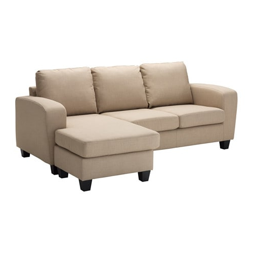 Sofas Con Chaise Longue Tldn Balderum Two Seat sofa with Chaise Longue Skiftebo Beige Ikea