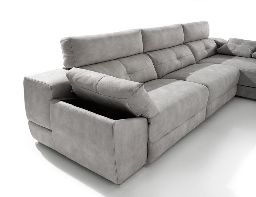 Sofas Con Chaise Longue Zwdg sofa Chaiselongue Memory En Diferentes Medidas Y Telas A Elegir