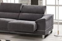 Sofas Con Patas Altas Q0d4 sofà Chaiselongue Con Patas Altas Para Facilitar La Limpieza