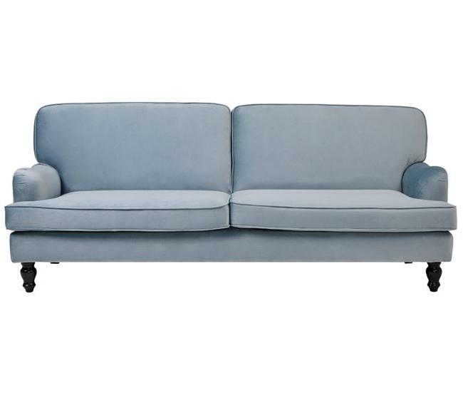 Sofas Conforama Precios Ffdn sofà Cama 3 Plazas Saphire Azul Claro Conforama