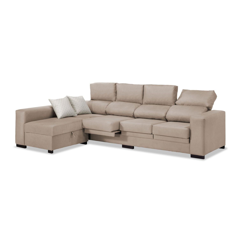 Sofas De 4 Plazas H9d9 sofa 4 Plazas Medidas Chaise Longue Beige 270