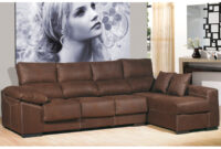 Sofas De 4 Plazas Irdz sofà Chaise Longue De 4 Plazas Chaise Longue Color Chocolate