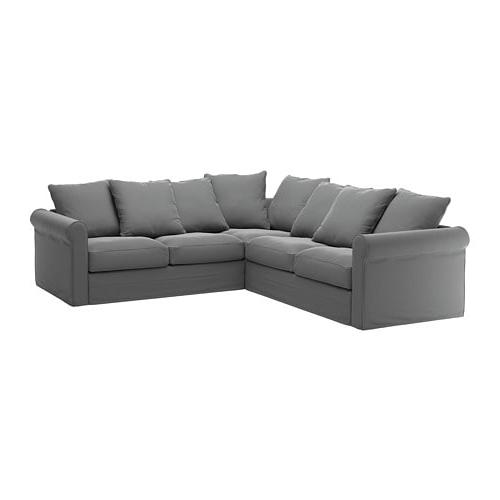 Sofas De 4 Plazas Qwdq Grà Nlid sofà 4 Plazas Esquina Ljungen Gris Ikea