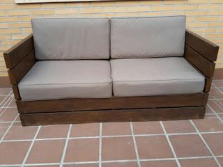 Sofas De Exterior Gdd0 sofà De Madera Para Exterior De Segunda Mano En Wallapop