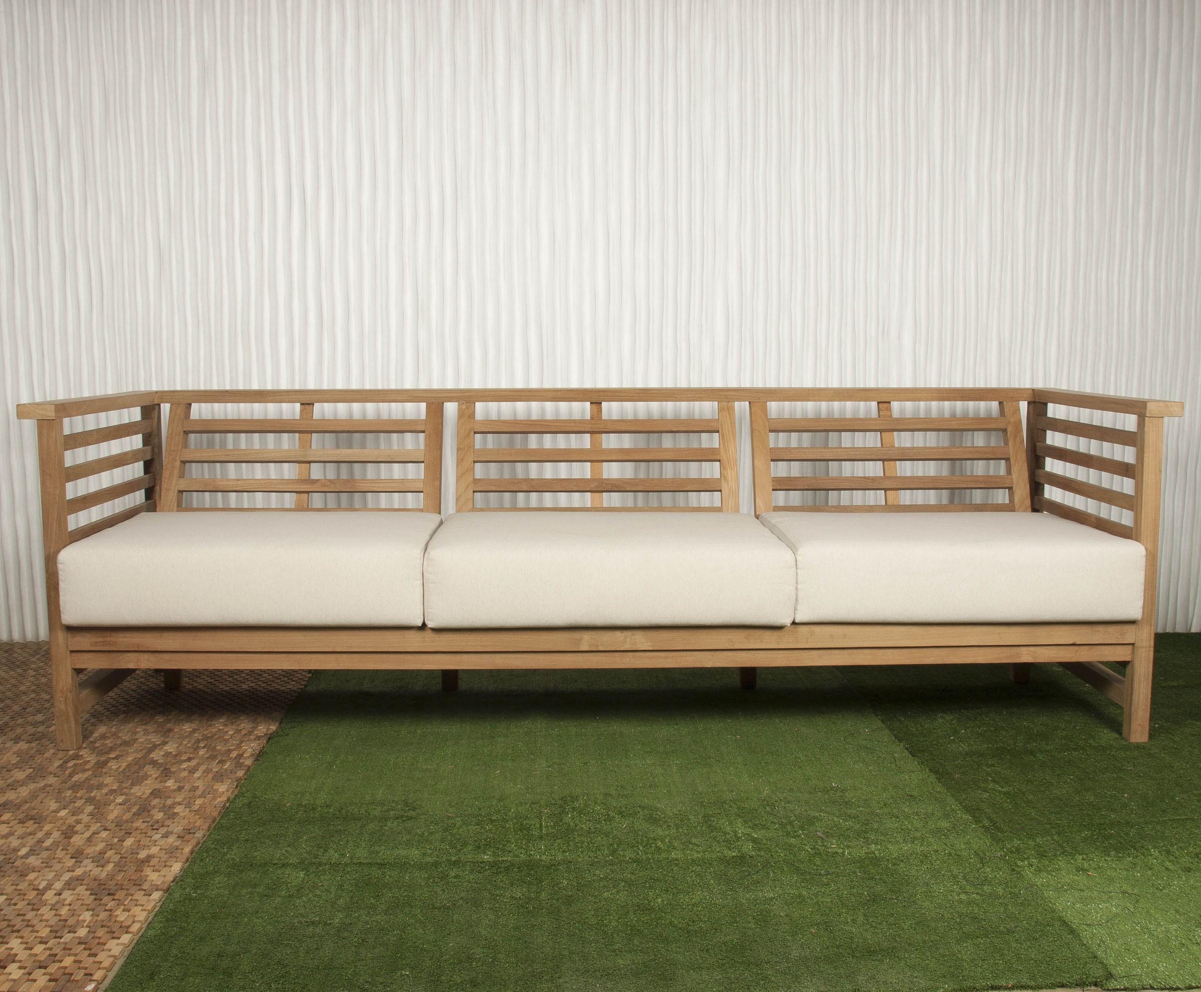 Sofas De Exterior Gdd0 sofà Exterior Y sofà De Madera Batavia