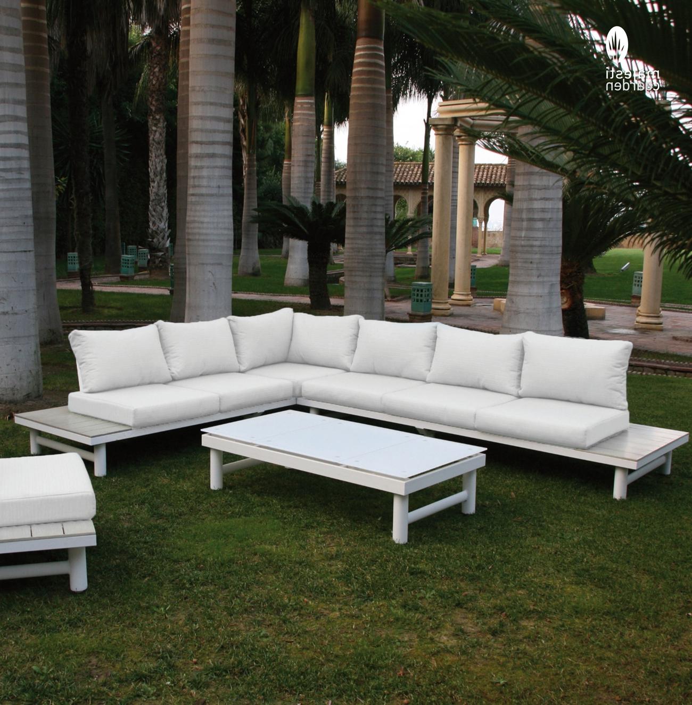 Sofas De Exterior Xtd6 Mia Home Set De sofà Para Exterior Creta De Aluminio