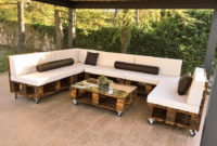 Sofas De Palets Para Terrazas Thdr Diy Pallet Patio sofa Set Poolside Furniture Garden