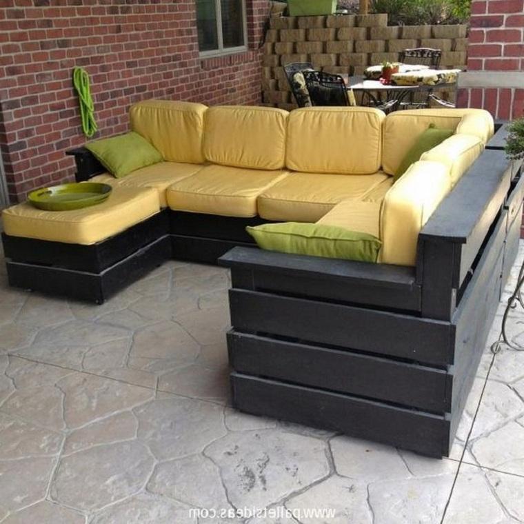 Sofas De Palets Para Terrazas X8d1 Terrazas Con Palets Mà S Ideas Para La Decoracià N De