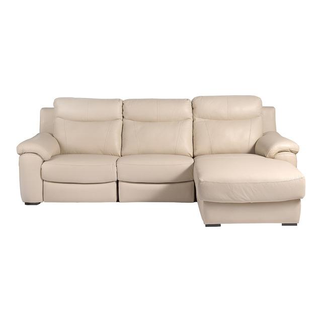 Sofas De Piel Ofertas Mndw sofà De Piel De 3 Plazas Brazo Derecho Relax Elà Ctrico Chaise