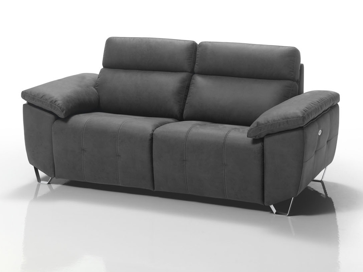 Sofas De Relax Zwdg sofà Relax Color Chocolate De 3 Plazas Reclinable E Hilo Grueso