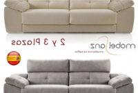 Sofas De Tres Plazas Bqdd sofa De 2 O 3 Plazas Con Relax Deslizante