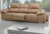 Sofas De Tres Plazas Ffdn sofà 3 Plazas Con 3 asientos Extraibles 240cm Decopaq