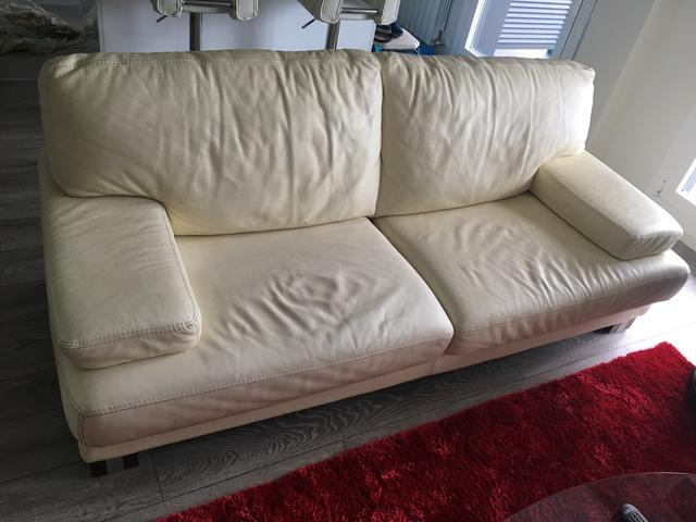 Sofas Donostia Mndw sofa De Piel De Segunda Mano Por 320 En Donostia San Sebastià N En