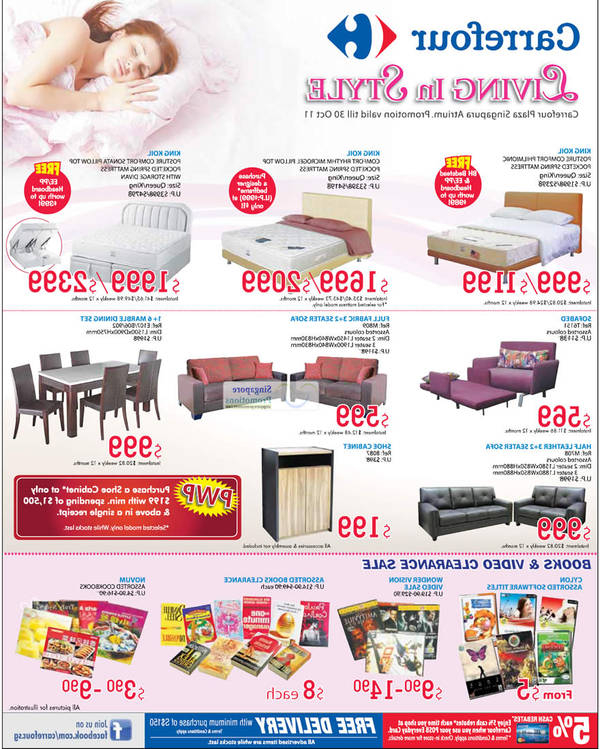 Sofas En Carrefour 9ddf sofa Bed at Carrefour Oct 2019 Singpromos