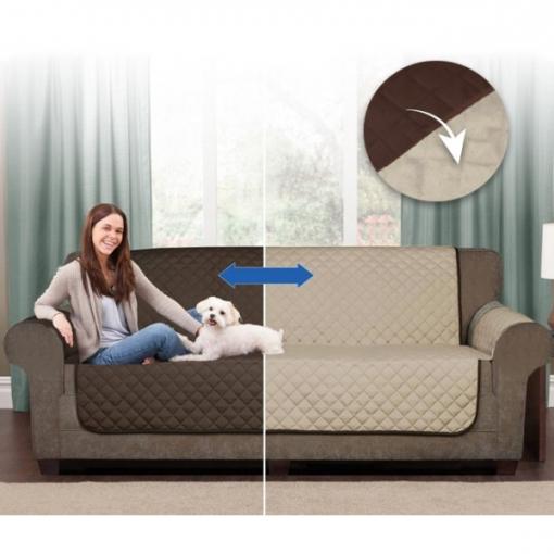 Sofas En Carrefour E6d5 Protector De sofa Reversible Funda Cubresofa 2 3 Plazas