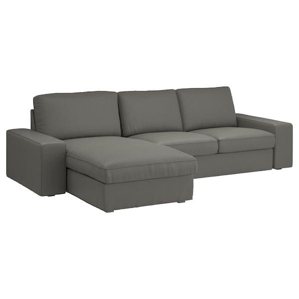 Sofas En Ikea Precios Fmdf sofà 3 Plazas Kivik Chaiselongue Borred Borred Verde Grisà Ceo
