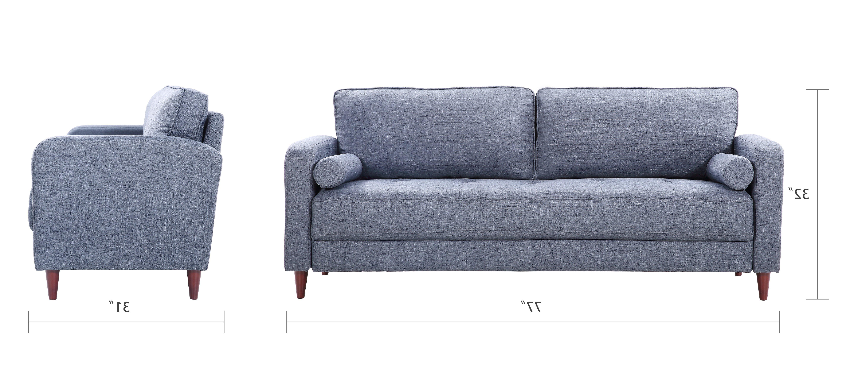Sofas En Lugo Kvdd Lugo Classic Mid Century Modern Linen sofa sofamania