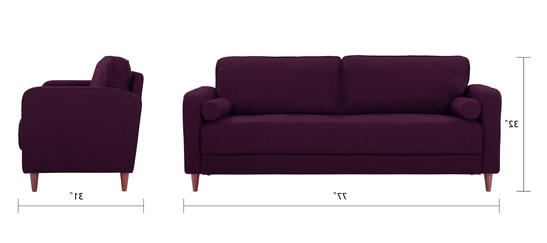 Sofas En Lugo X8d1 Lugo Classic Mid Century Modern Linen sofa sofamania