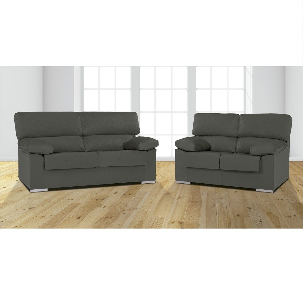 Sofas En Salamanca 87dx sofa Set 3 Seater and 2 Seater In Synthetic Fabric Salamanca