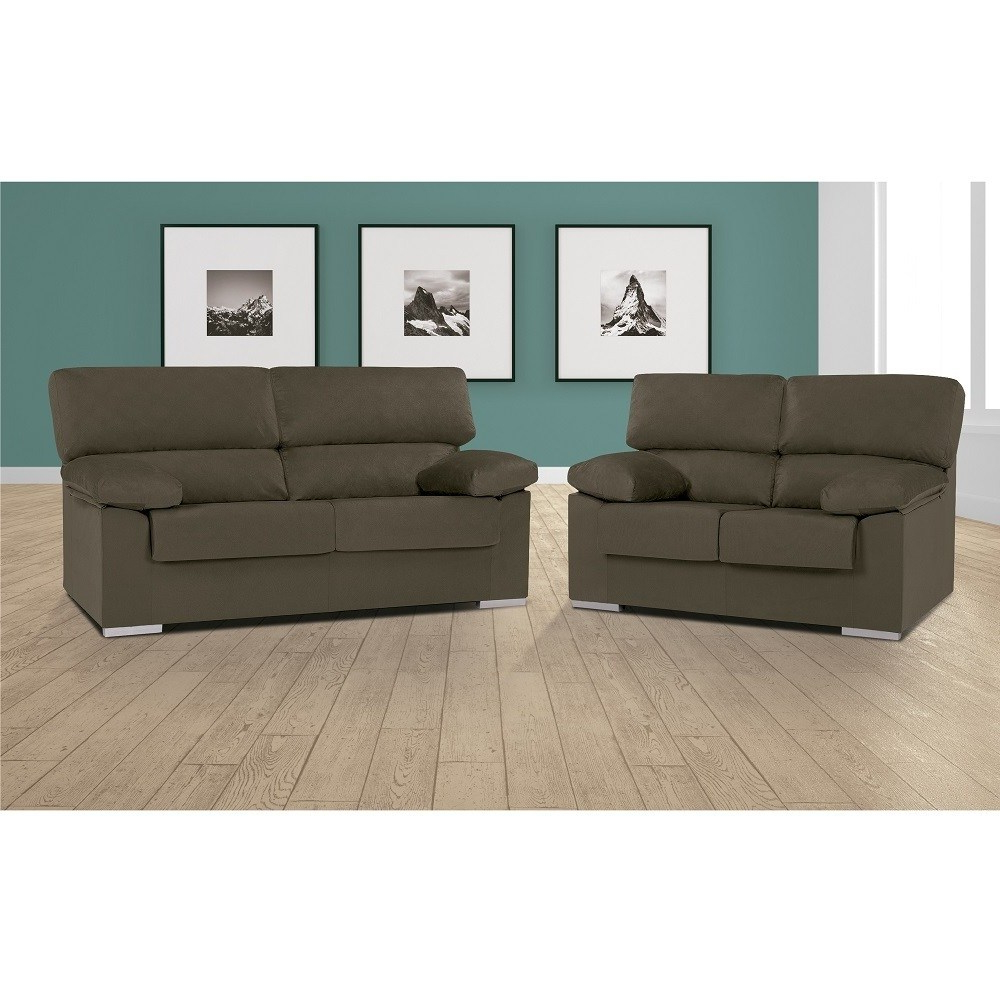 Sofas En Salamanca 9fdy sofa Set 3 Seater and 2 Seater In Synthetic Fabric Salamanca Don Baraton