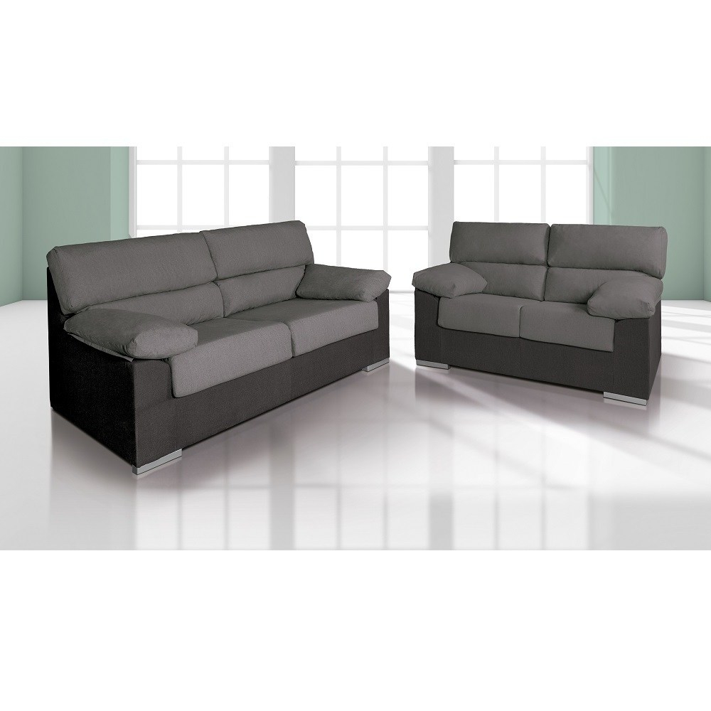 Sofas En Salamanca Ftd8 sofa Set 3 Seater and 2 Seater In Synthetic Fabric Salamanca