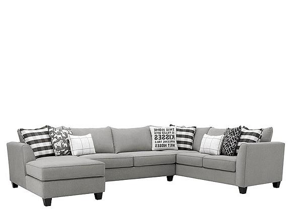 Sofas En U 8ydm Sectional sofas Modular sofa Leather Microfiber Chenille