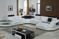 Sofas En U Bqdd sofà S De Esquina De Cuero En forma De U sofà Seccional sofà S Muebles