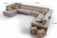 Sofas En U Qwdq sofà Rinconera Chaiselongue En forma De U 329x202x185